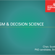 Secularism and Decision Science